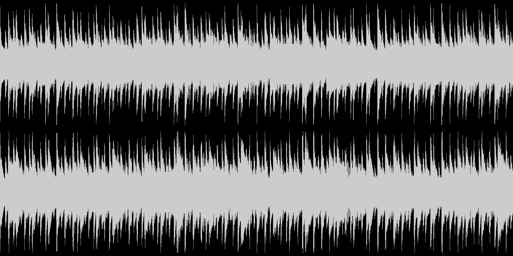 西アフリカ リュート型弦楽器の未再生の波形