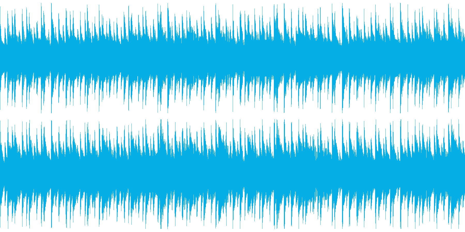 西アフリカ リュート型弦楽器の再生済みの波形