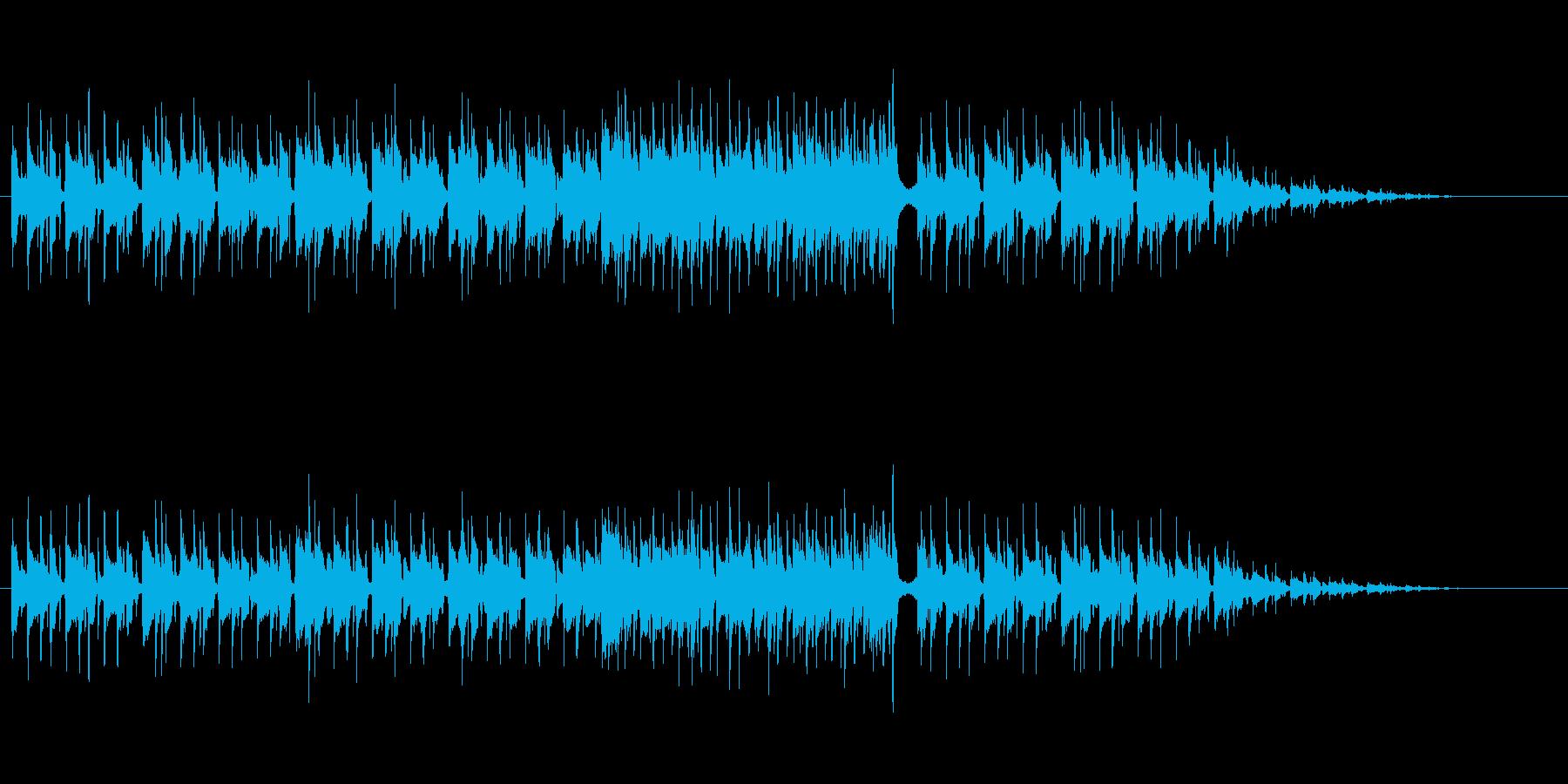 スタイリッシュなマイナー・フュージョンの再生済みの波形