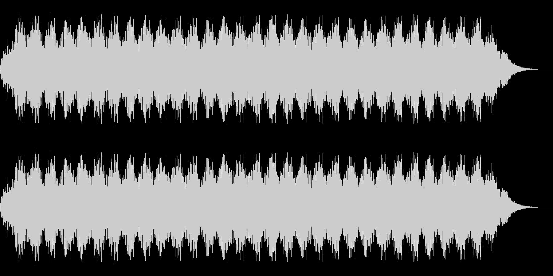 アニメにありそうなガンポッドの未再生の波形