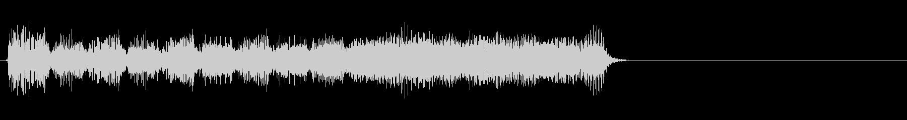 アクションゲーム等のステージクリア音の未再生の波形