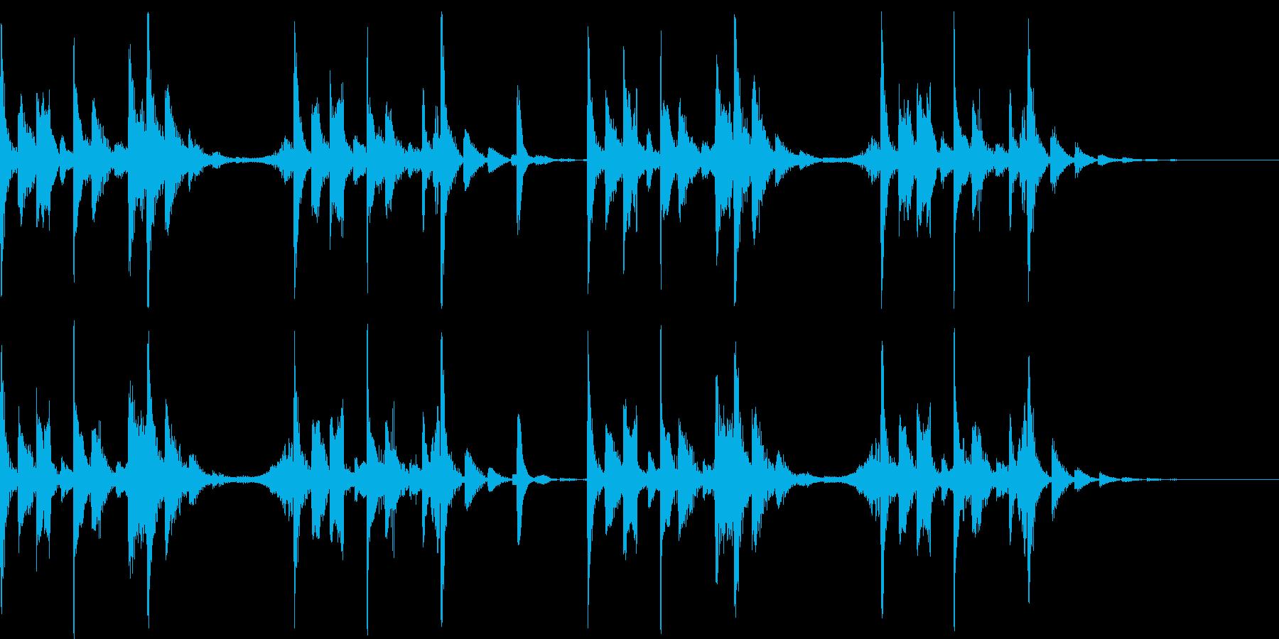 CM等に使えるテクノアンビエントジングルの再生済みの波形