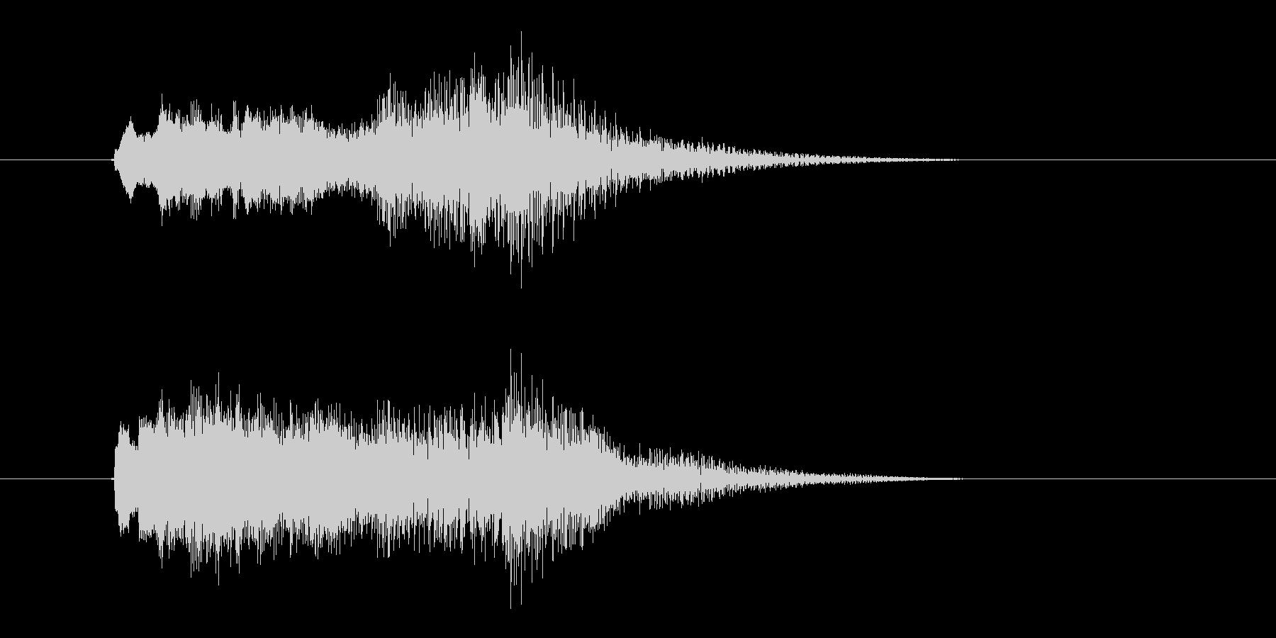 キラキラゴージャスなクラシックシンセの未再生の波形