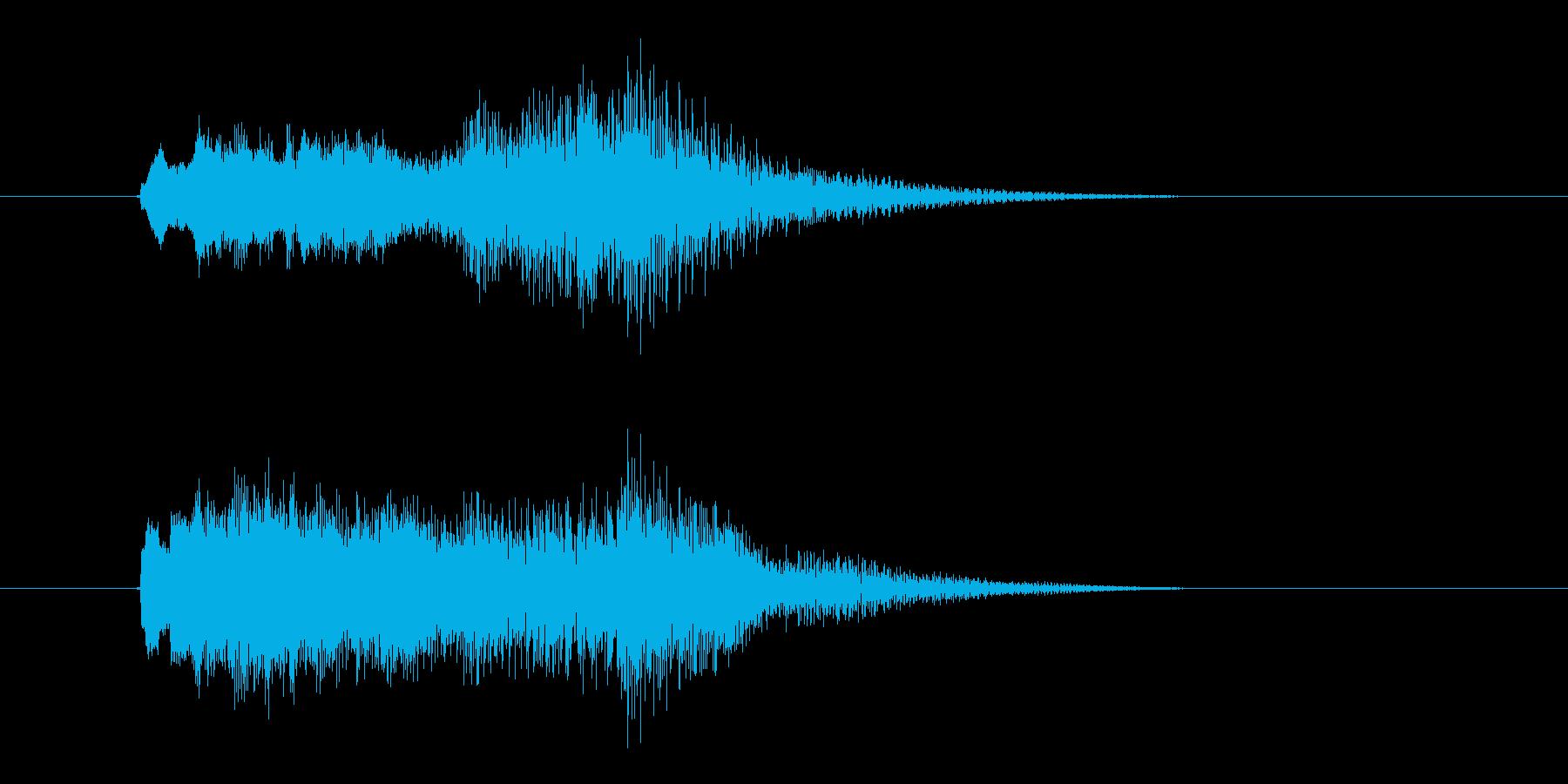 キラキラゴージャスなクラシックシンセの再生済みの波形