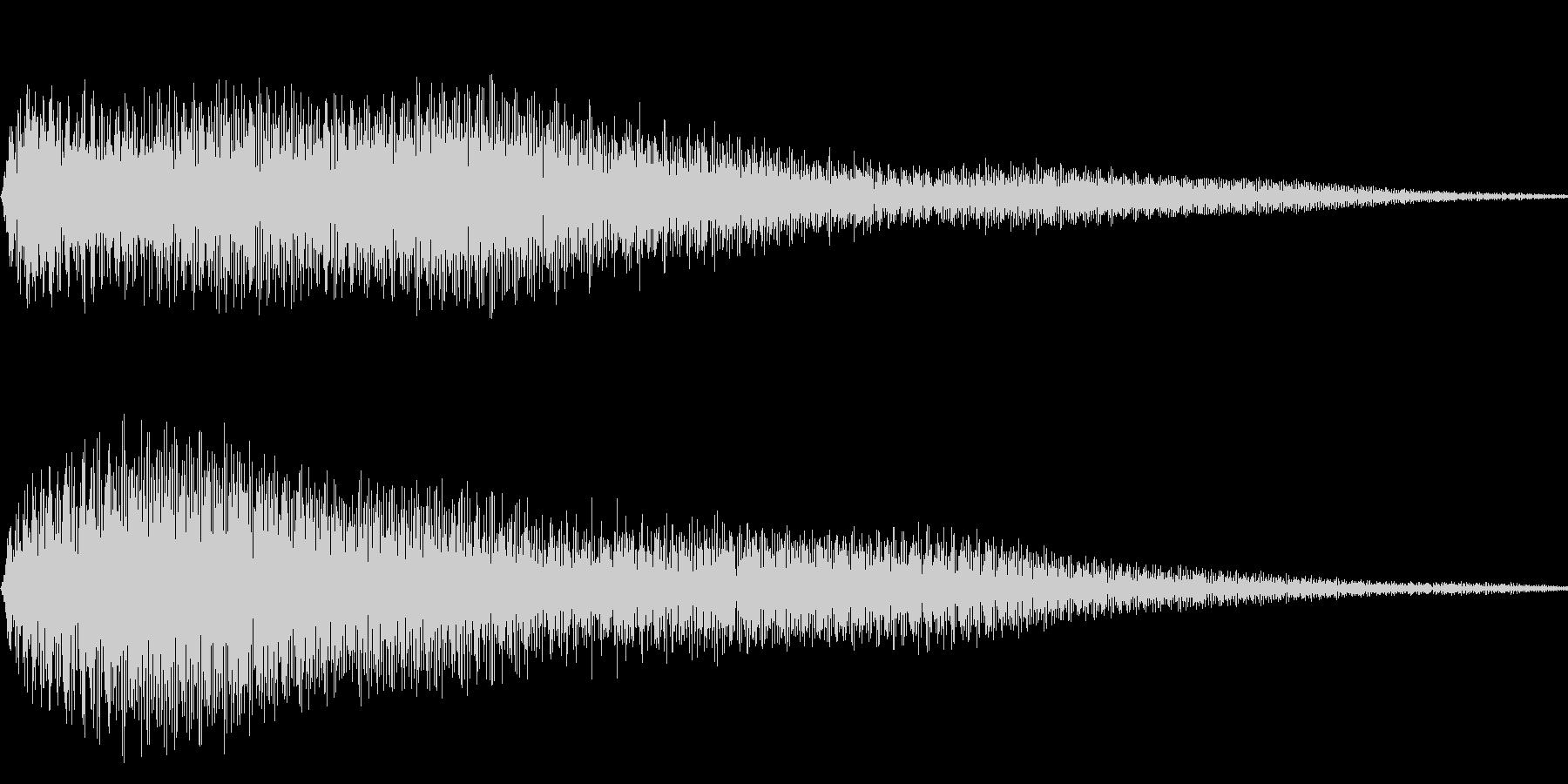 ピロン(メニュー画面 調べる ゲーム)の未再生の波形