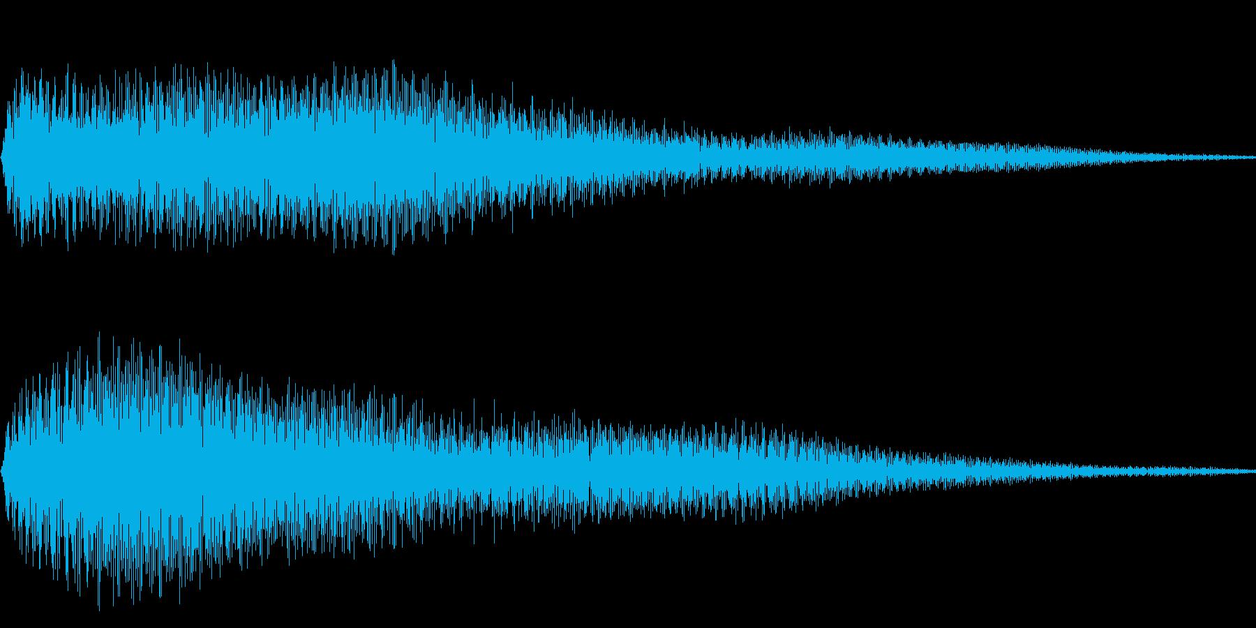ピロン(メニュー画面 調べる ゲーム)の再生済みの波形