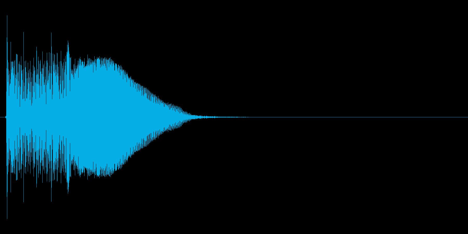 ビーム系ライフルSE(バキューン、SF)の再生済みの波形