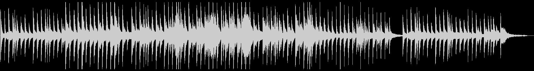 しっとりとメロディアスなピアノバラードの未再生の波形