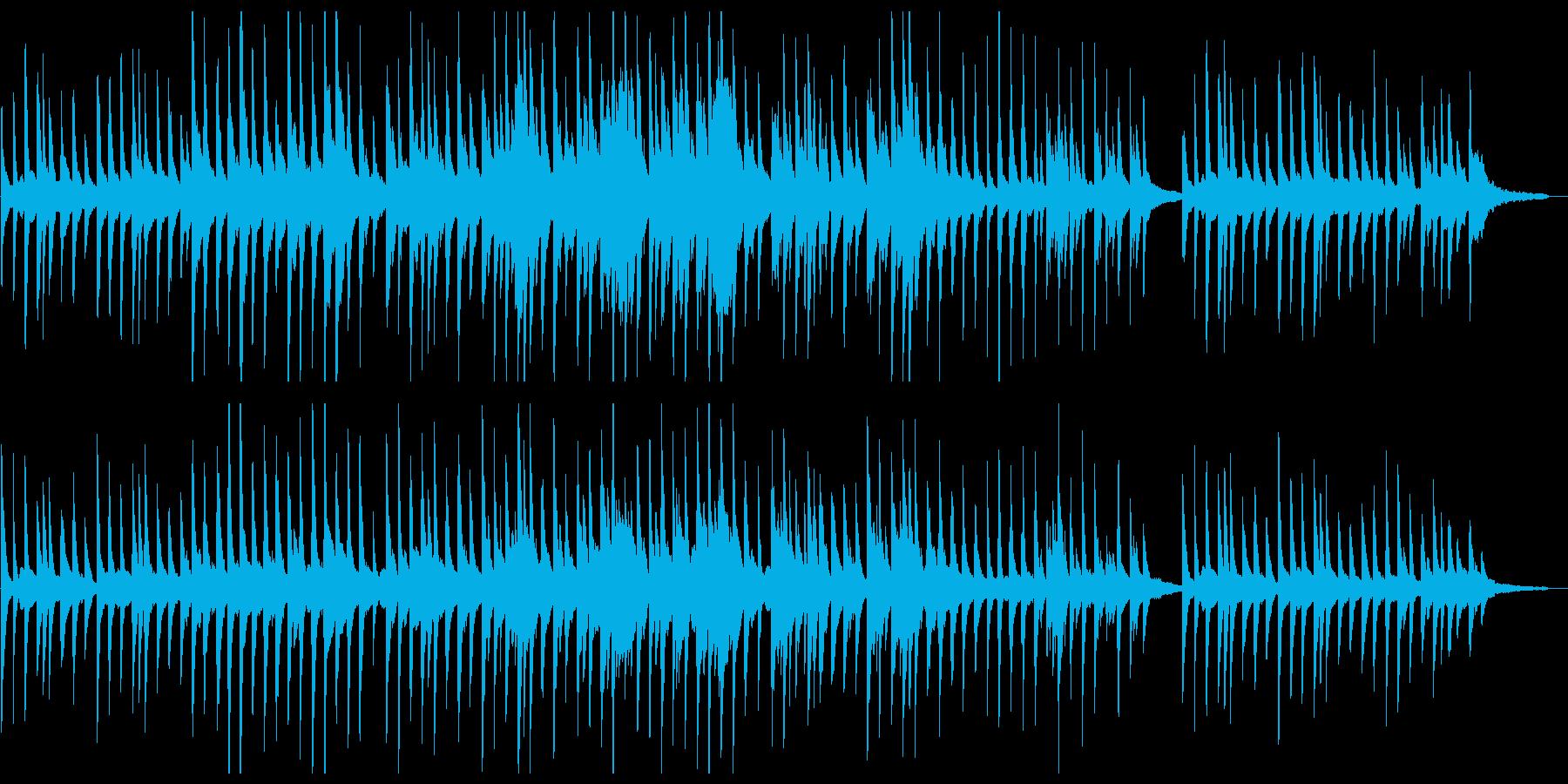 しっとりとメロディアスなピアノバラードの再生済みの波形
