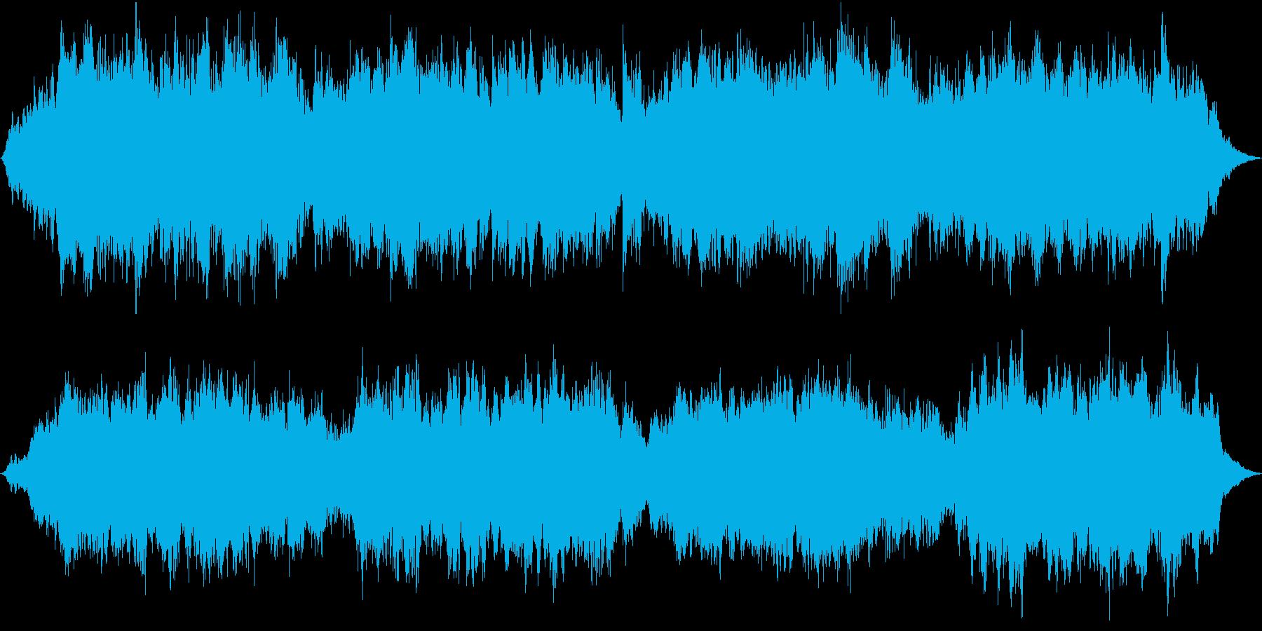 浜辺の歌・弦とハープの郷愁あふれる編曲の再生済みの波形