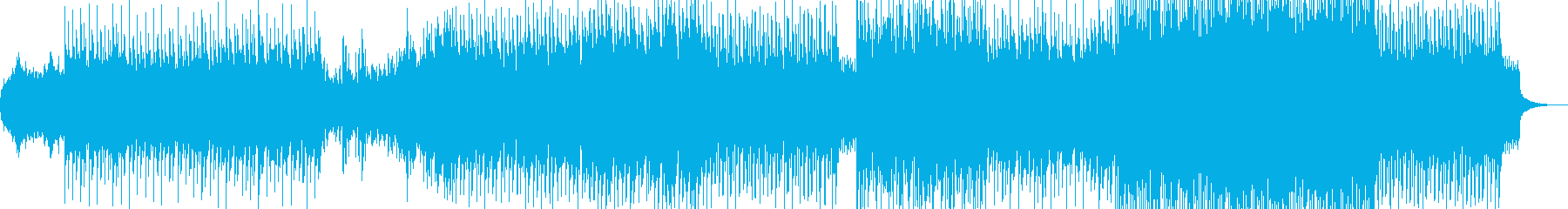 かわいい感じのテクノポップインストの再生済みの波形