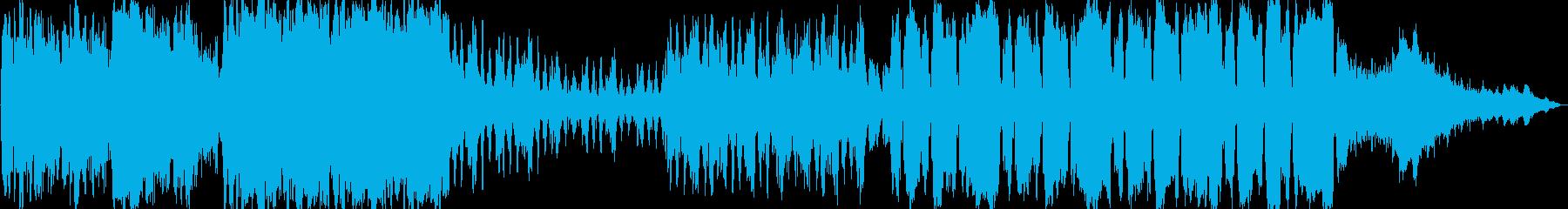 ケルト系 派手目のケルト音楽の再生済みの波形