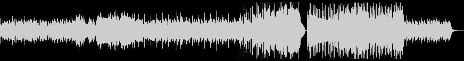 儚げなメロディが印象的なBGMの未再生の波形