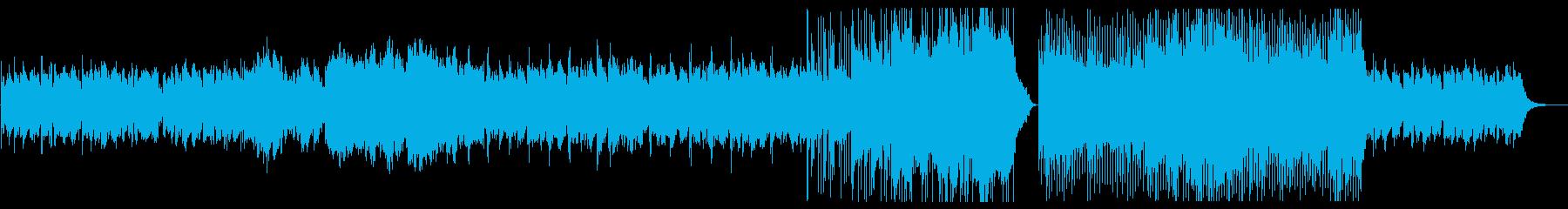 儚げなメロディが印象的なBGMの再生済みの波形