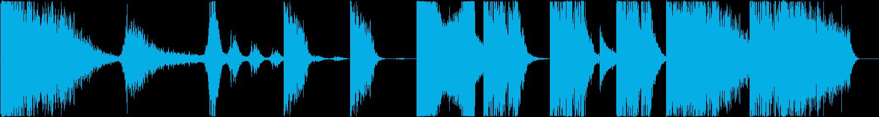 トレーラー : 打楽器中心の再生済みの波形