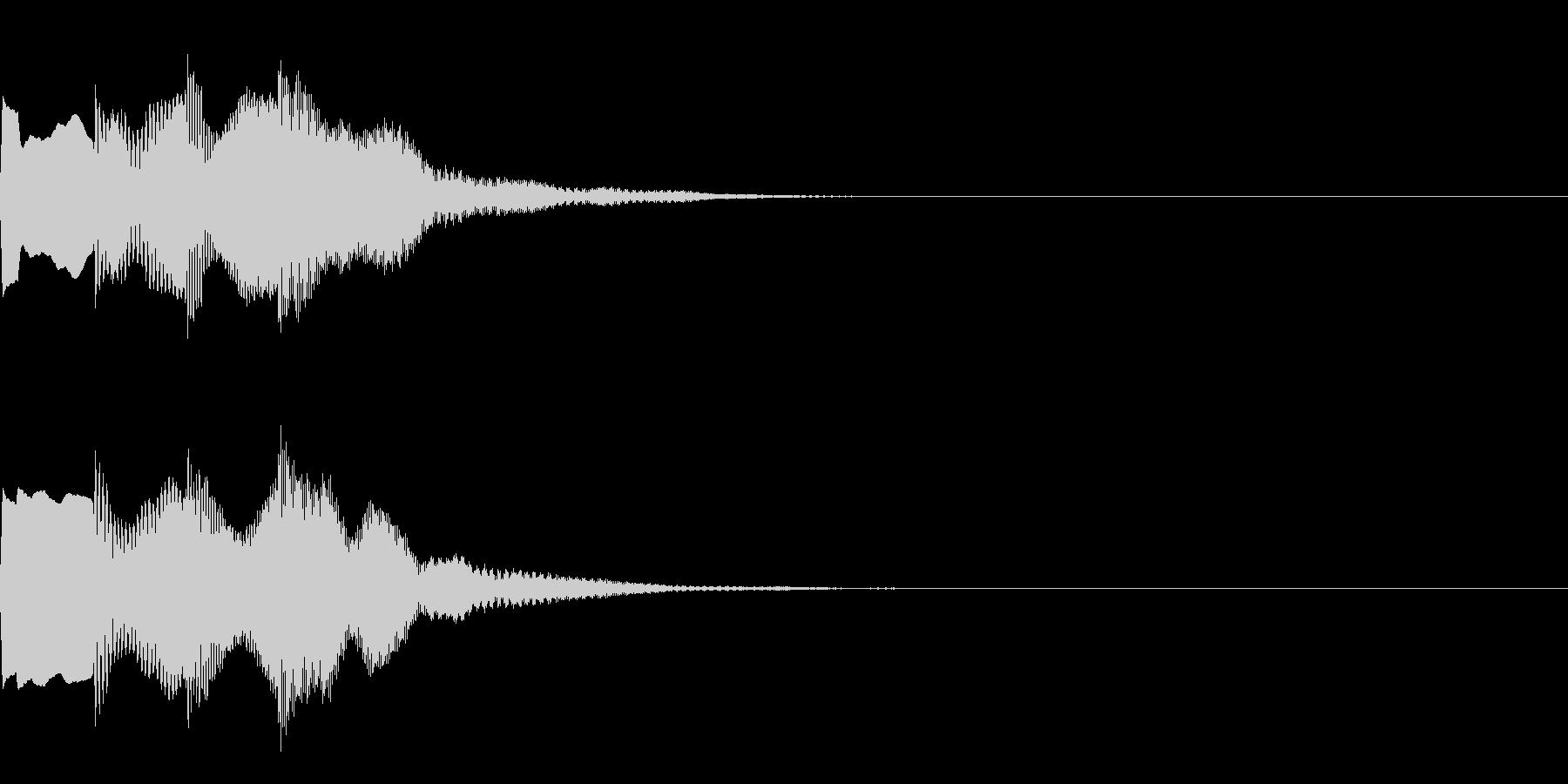 決定音67_シンセAIの未再生の波形