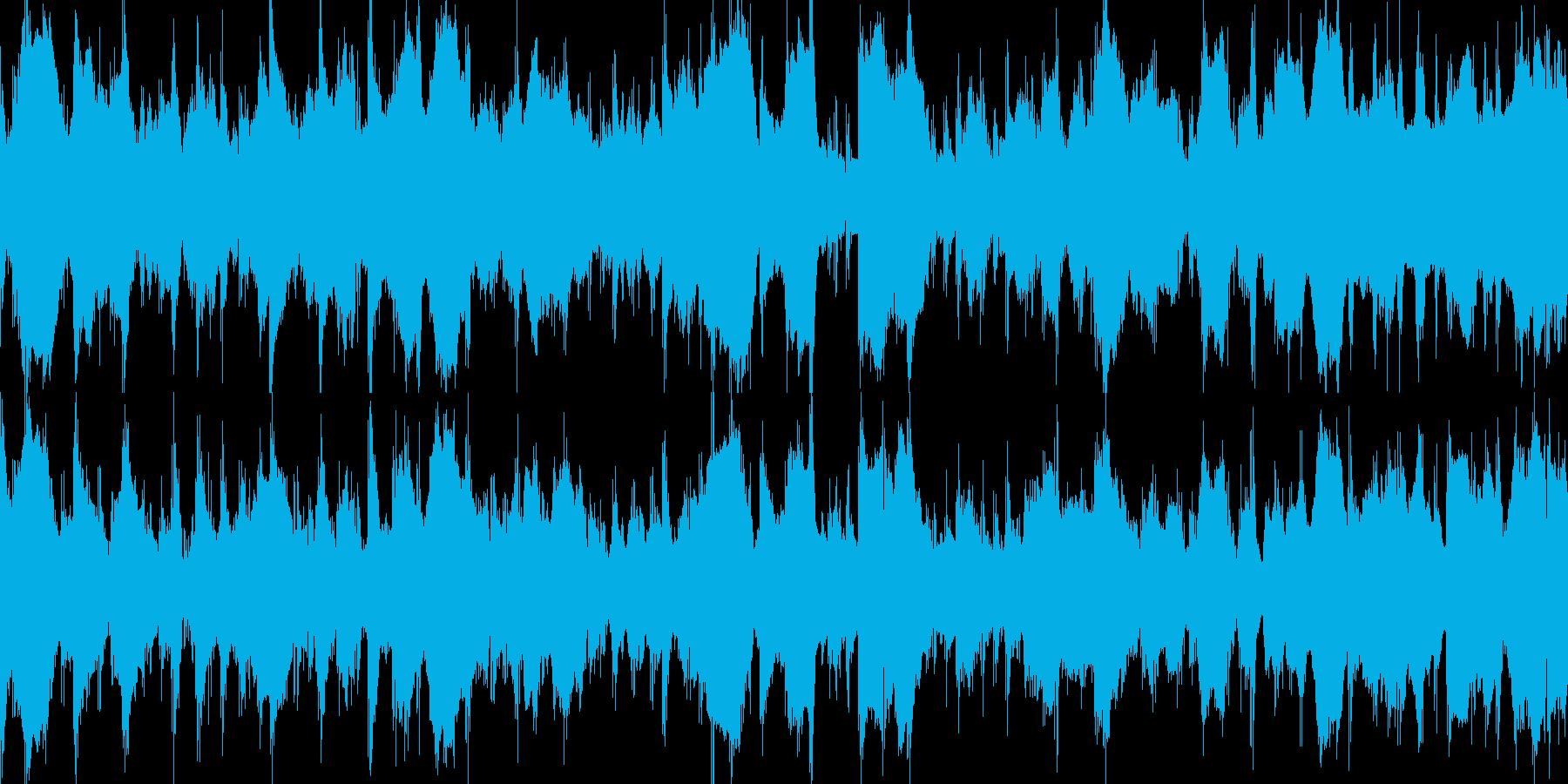 怪しい部屋に迷い込んだような曲 不安の再生済みの波形