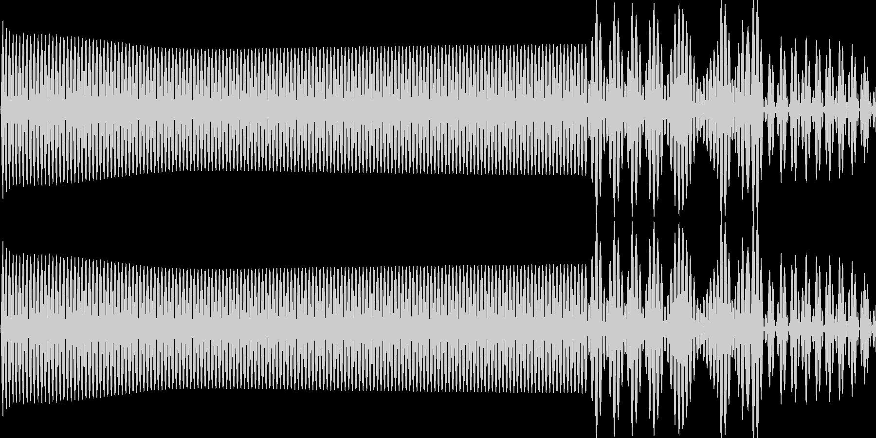 ピヨッ(click_決定_02)の未再生の波形