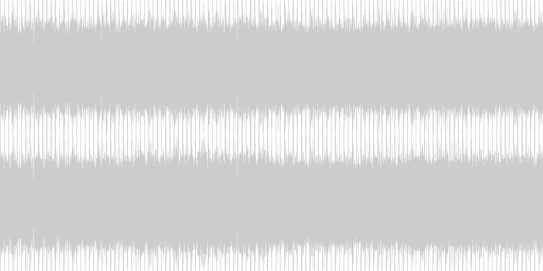 ニュース番組・インダストリー・ループの未再生の波形