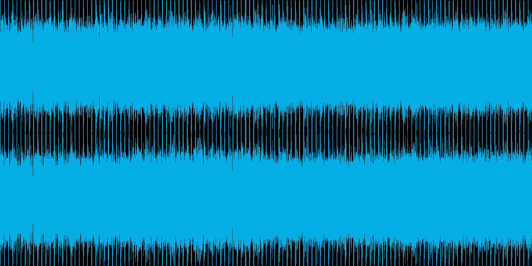ニュース番組・インダストリー・ループの再生済みの波形