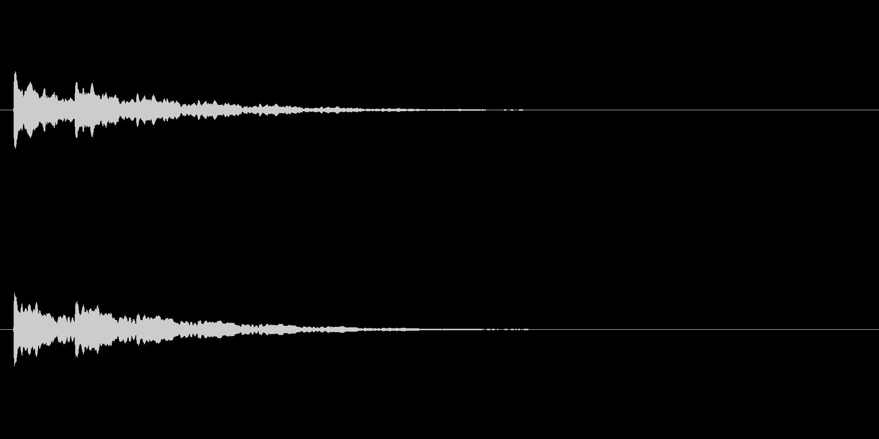 【アクセント29-2】の未再生の波形