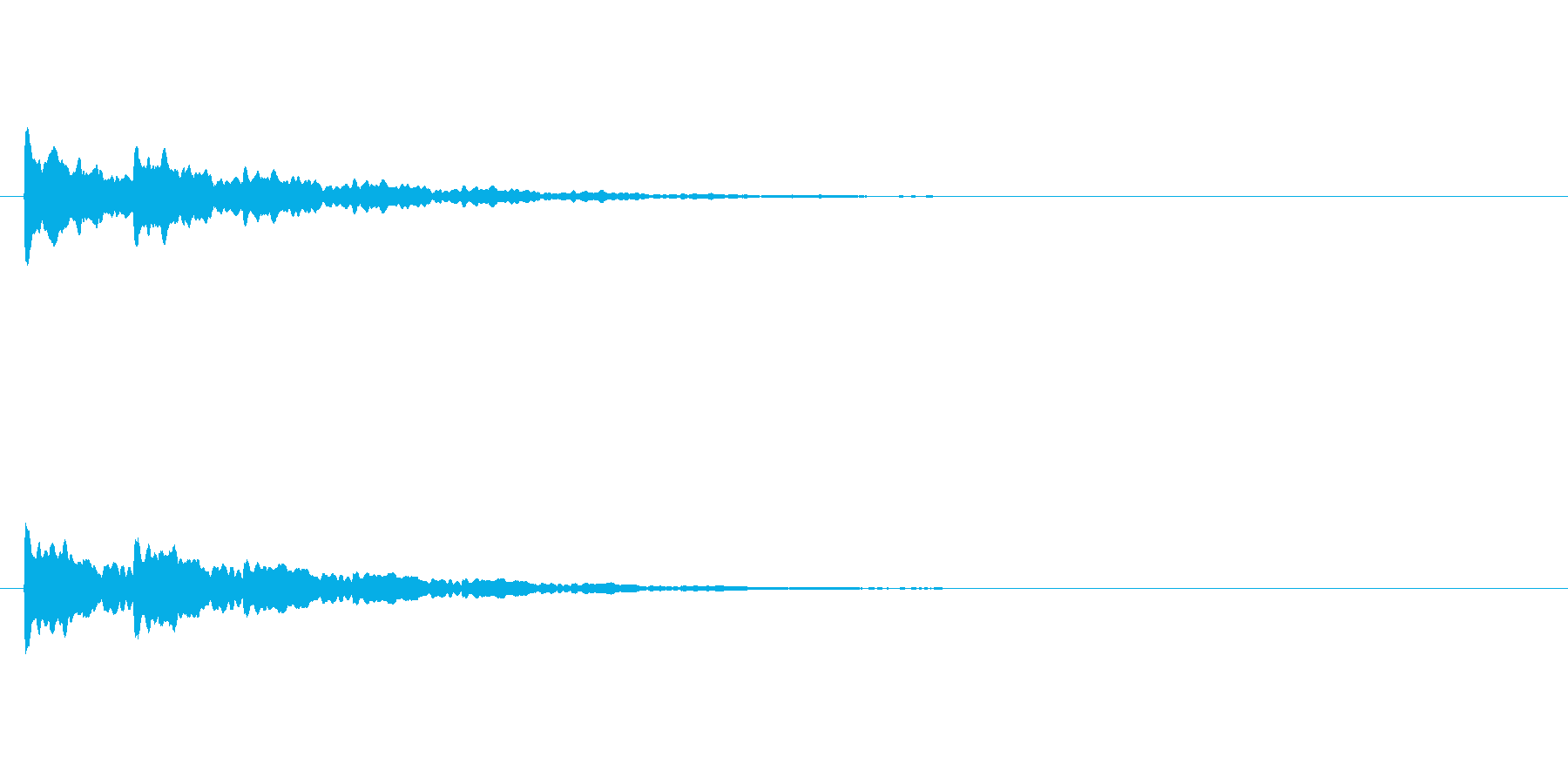 【アクセント29-2】の再生済みの波形