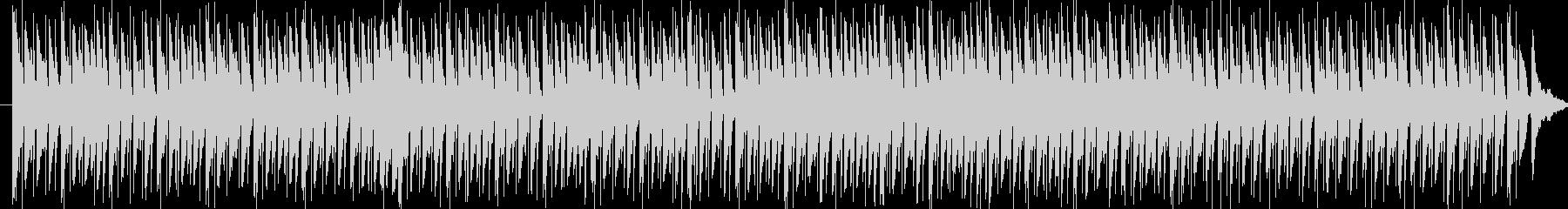 リズミカルでコミカルな行進曲の未再生の波形