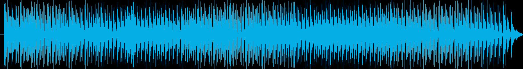 リズミカルでコミカルな行進曲の再生済みの波形