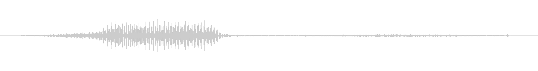 (女性)ドイツ語 数字6(六) ゼクスの未再生の波形
