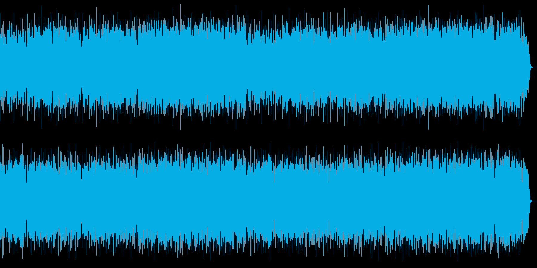 SAX演奏のゆっくりめの爽やかなボサノバの再生済みの波形