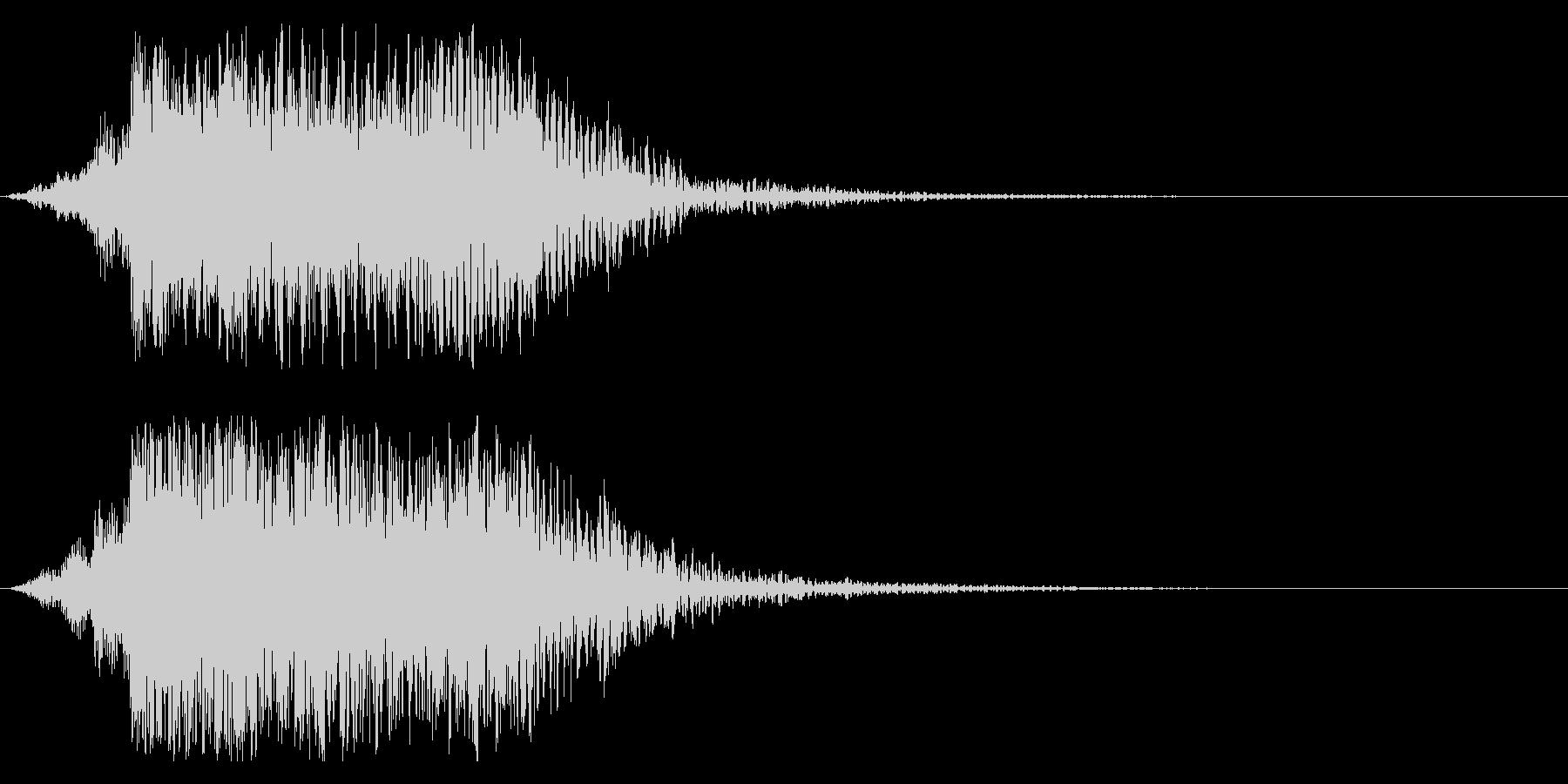 シネマティック DJヒット インパクト1の未再生の波形