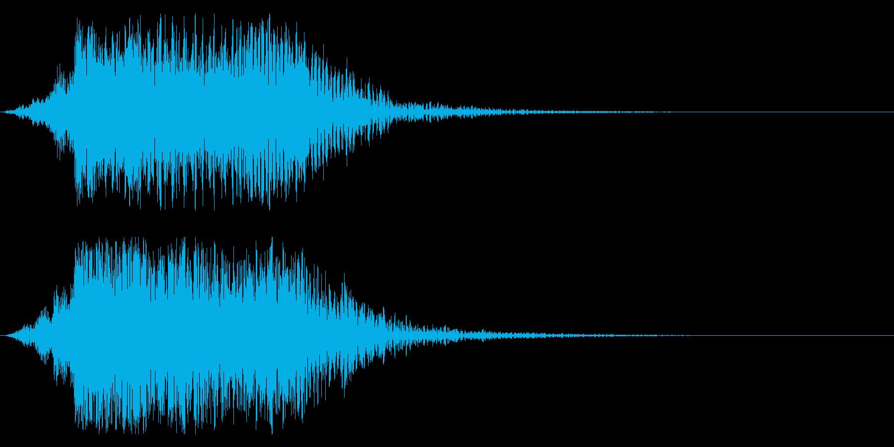 シネマティック DJヒット インパクト1の再生済みの波形