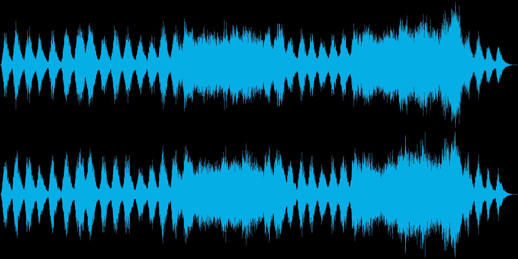 幻想的で荘厳な雰囲気が印象的にリフレインの再生済みの波形