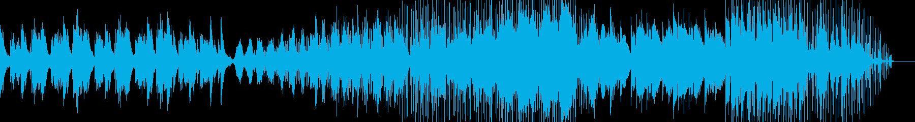 ラウンジ系音楽ー平穏の再生済みの波形