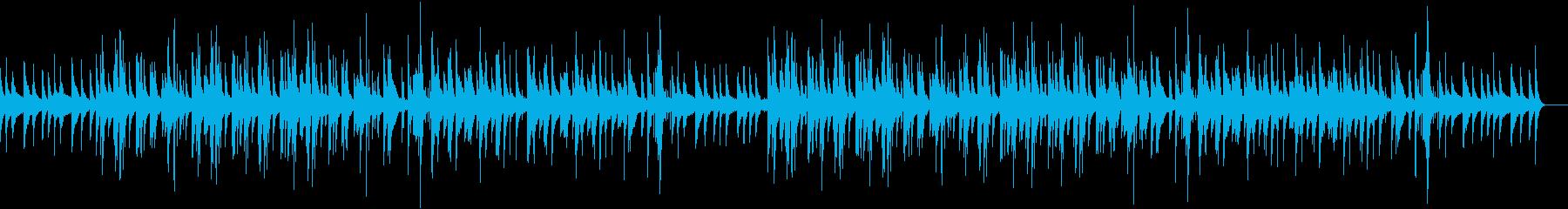 静かでスローなジャズの再生済みの波形