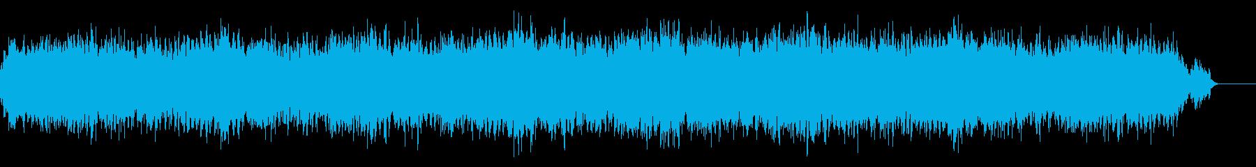 ピアノとパッドのドキュメンタリー風BGMの再生済みの波形