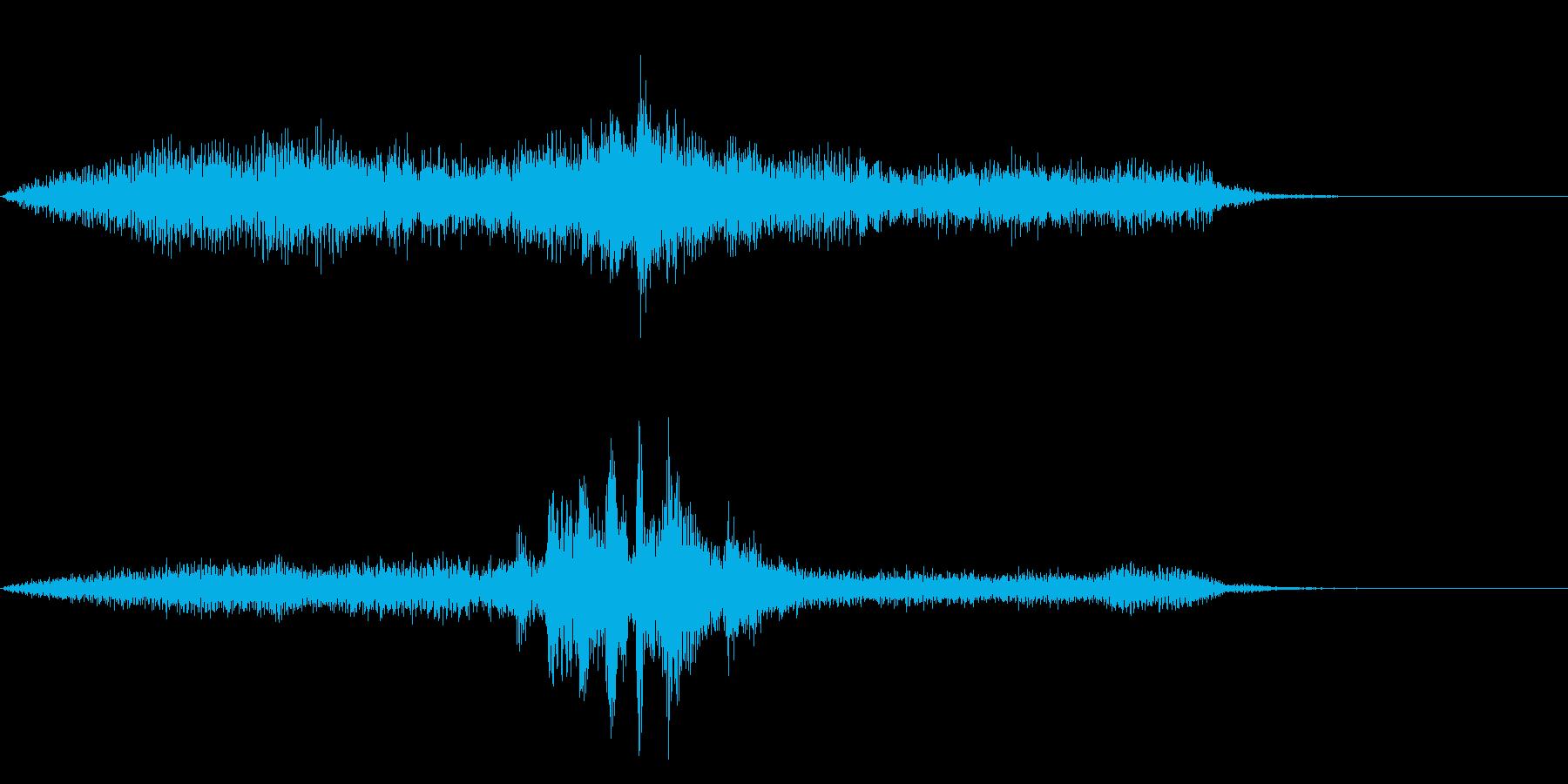 劇伴~ひらめいたときの効果音~の再生済みの波形