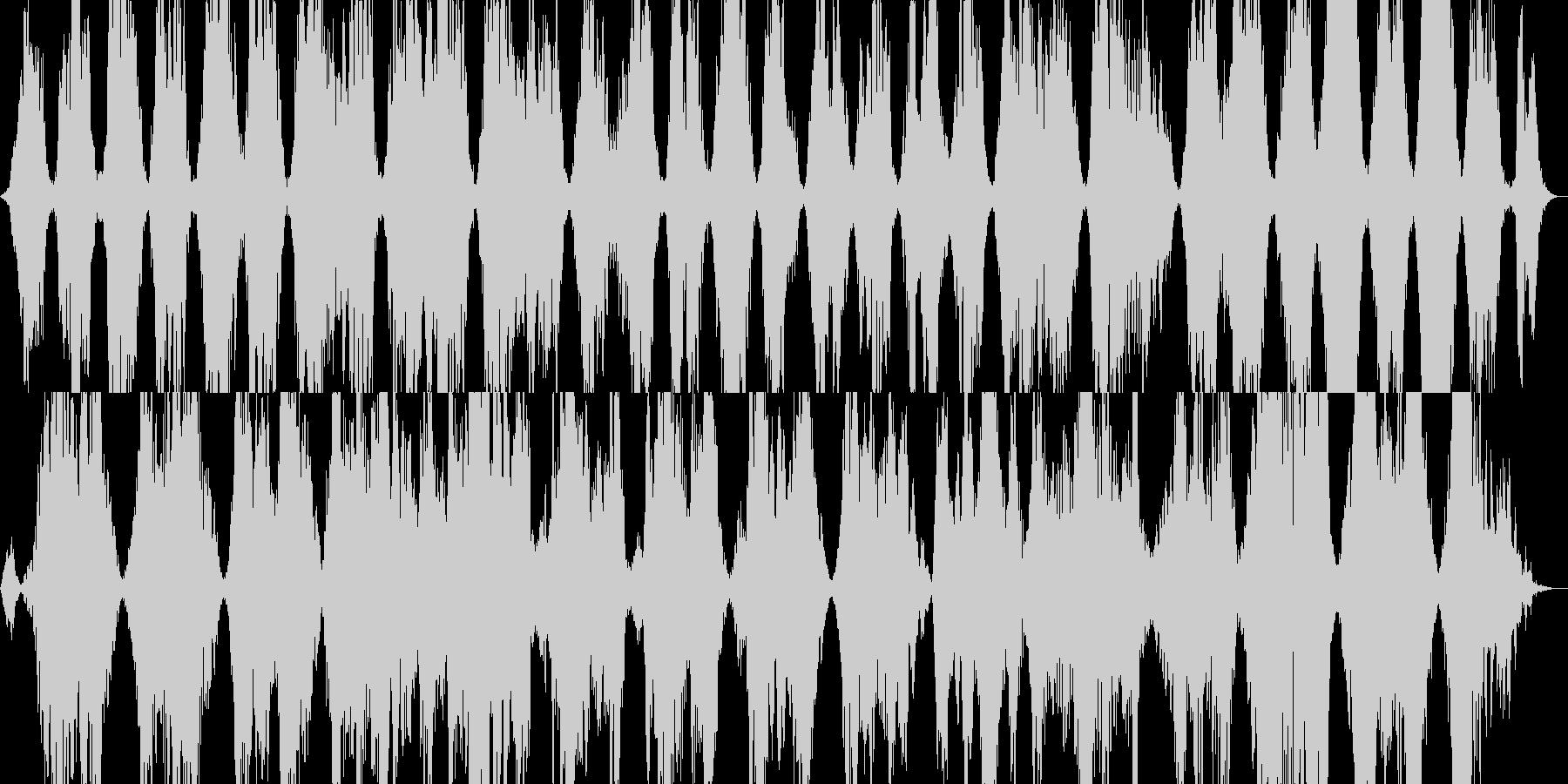 ホラー怪談や恐怖を連想させるBGMの未再生の波形