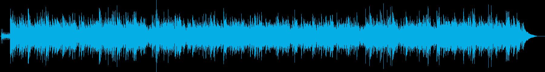 Xmasアコギと鈴かわいいカントリー 冬の再生済みの波形
