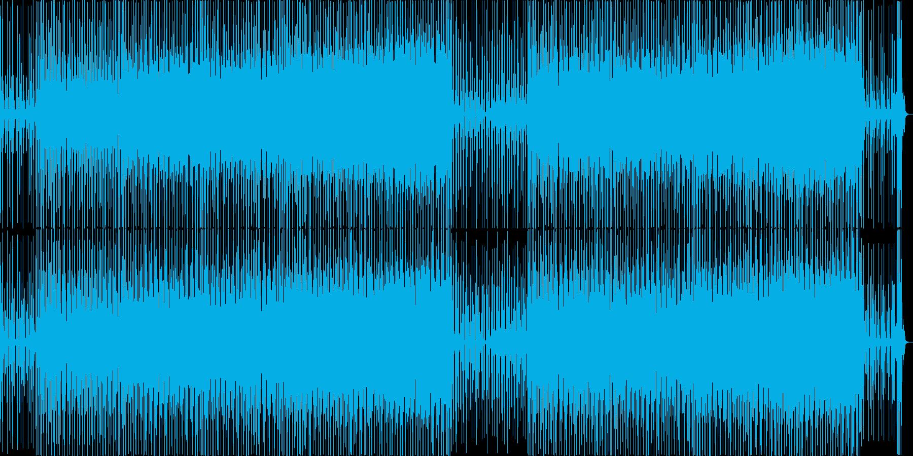 ラテンのリズムとエスニック系のBGMの再生済みの波形
