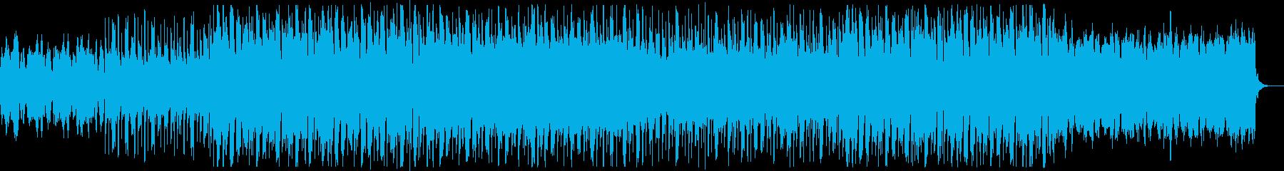 フィドルが明るく軽快なカントリーの再生済みの波形