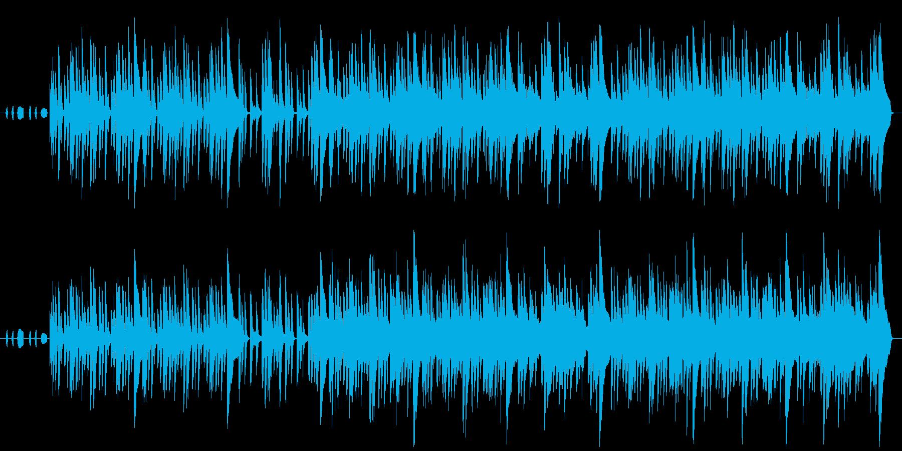 のんびり+ノスタルジックなアンサンブルの再生済みの波形