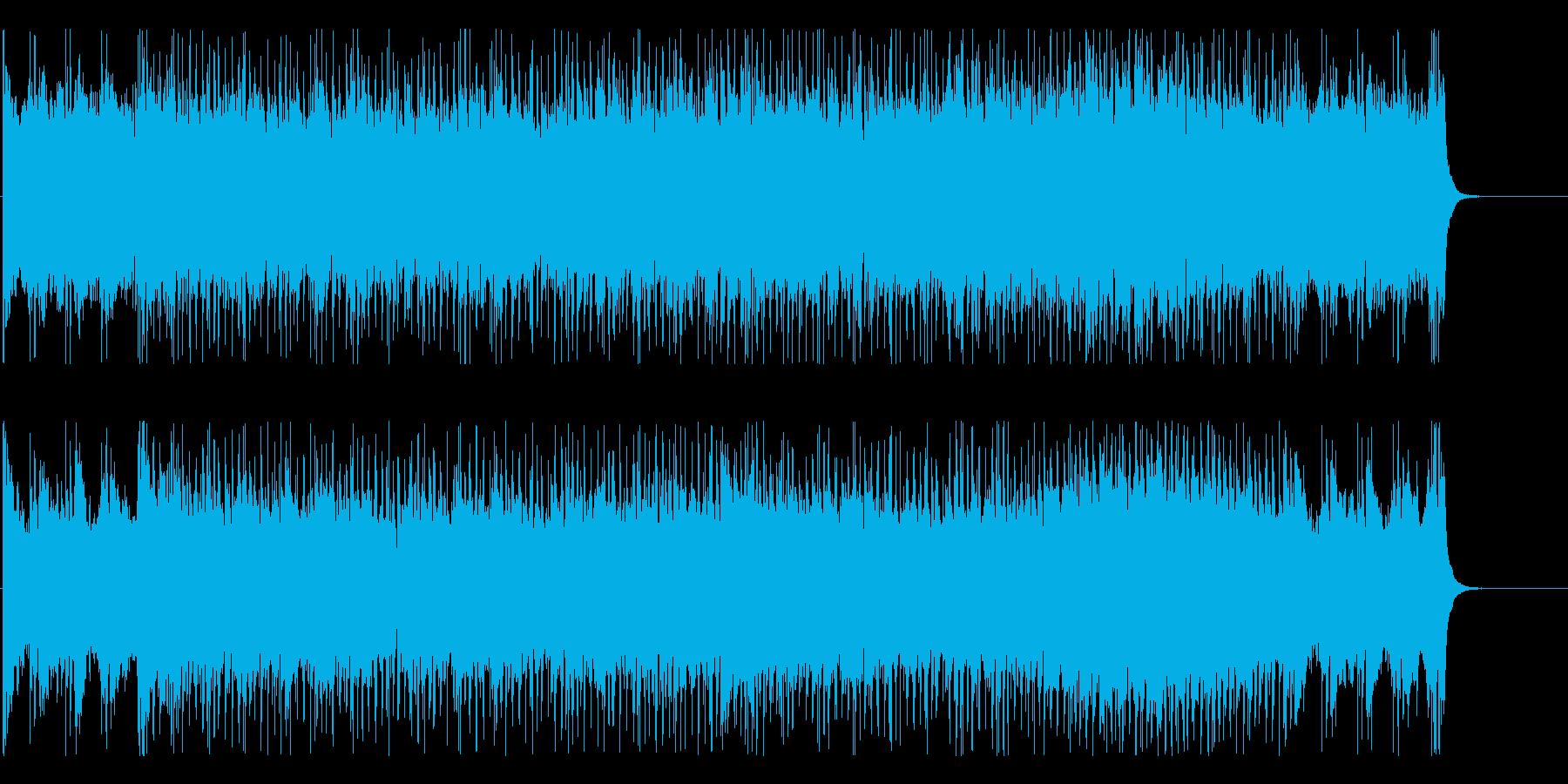 オープニング アドベンチャー 栄光 躍動の再生済みの波形