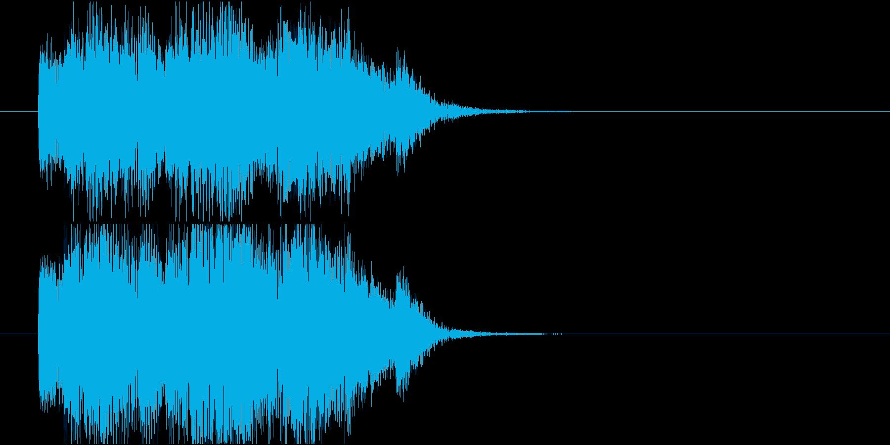 結果表示_得点加算の再生済みの波形