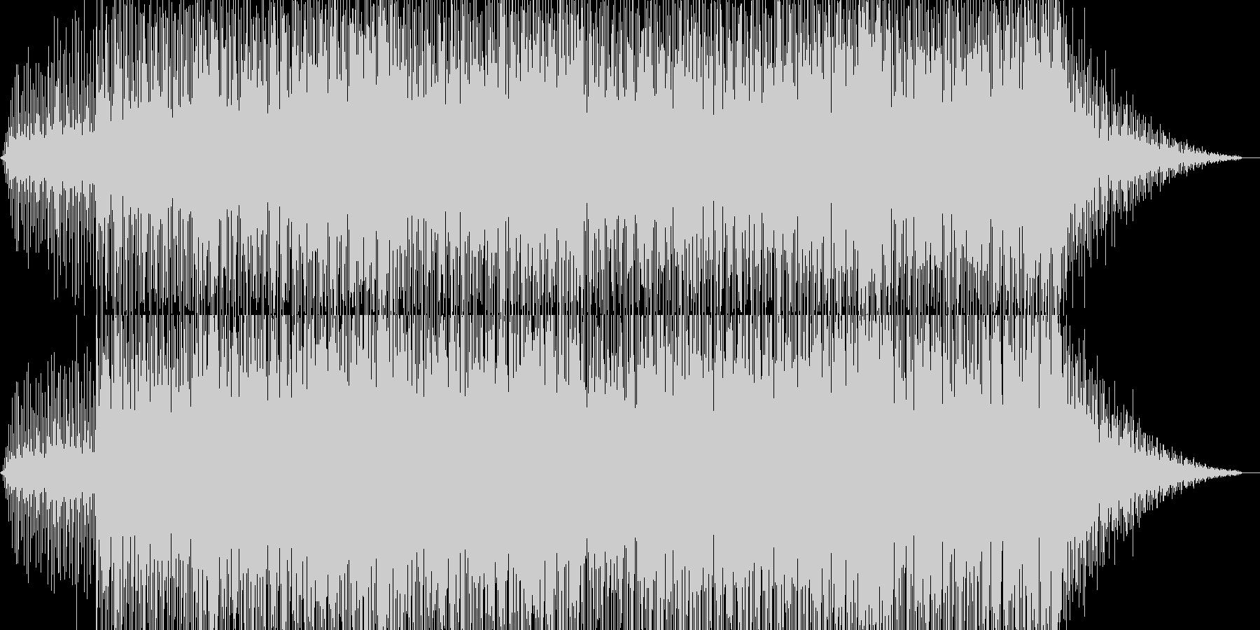ティータイム短調ボサノヴァ2の未再生の波形