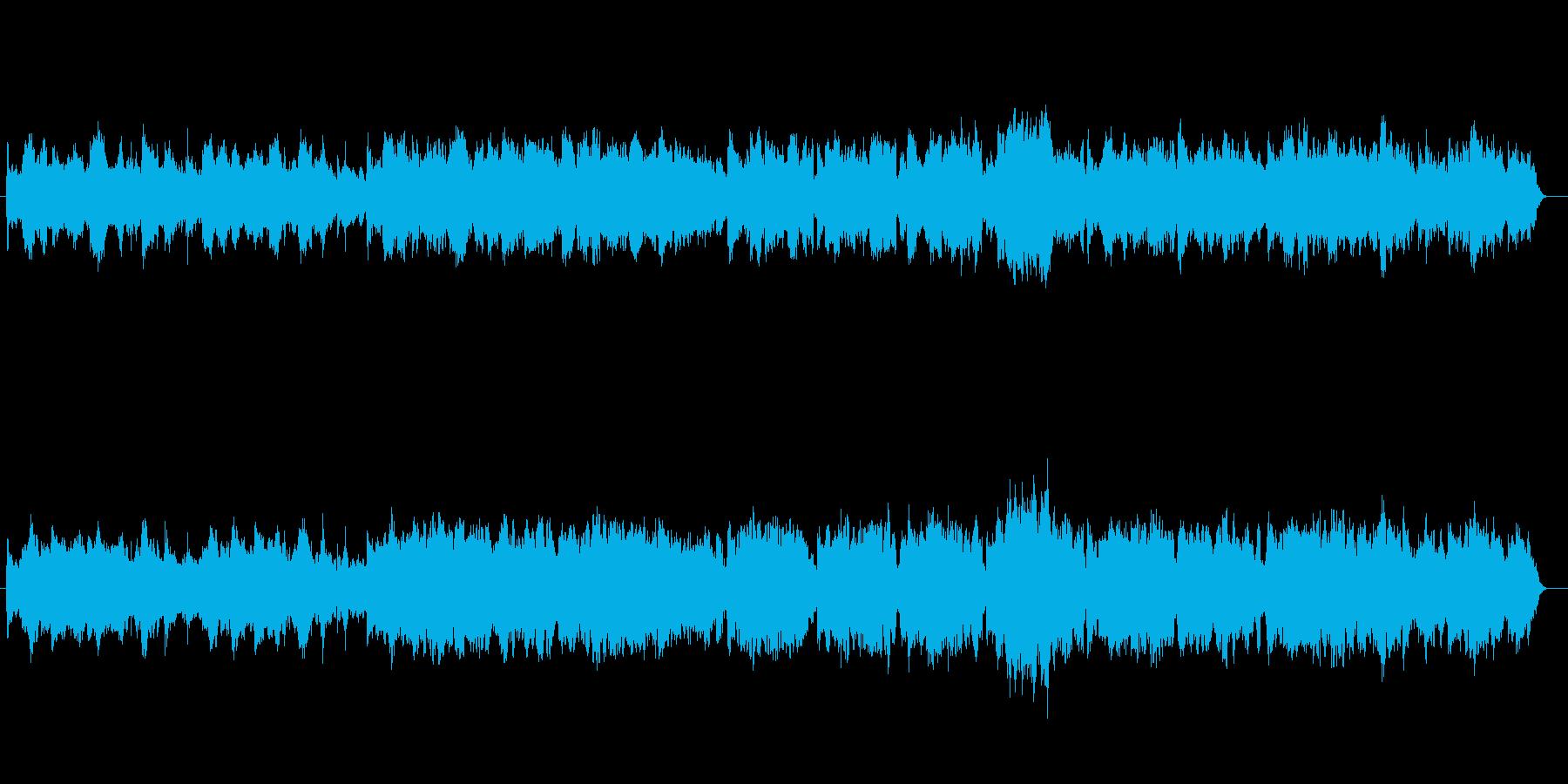 ロマンチックな民族調ワルツの子守歌の再生済みの波形