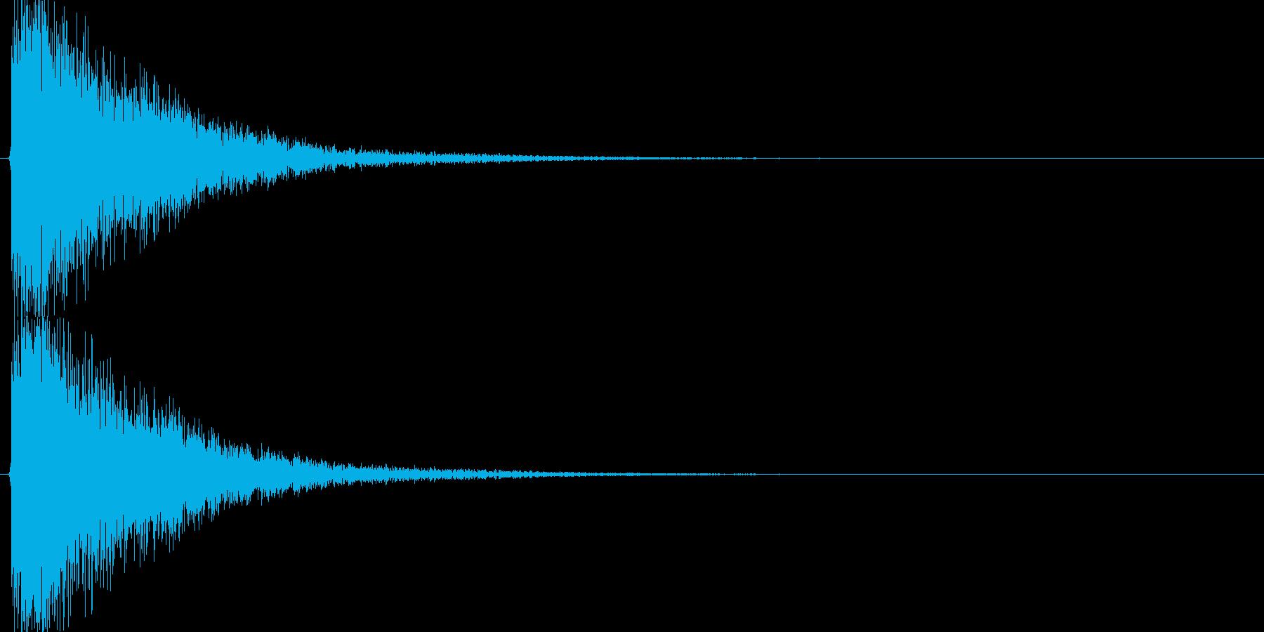 カーン(剣VS金属盾、大剣VS大剣)の再生済みの波形