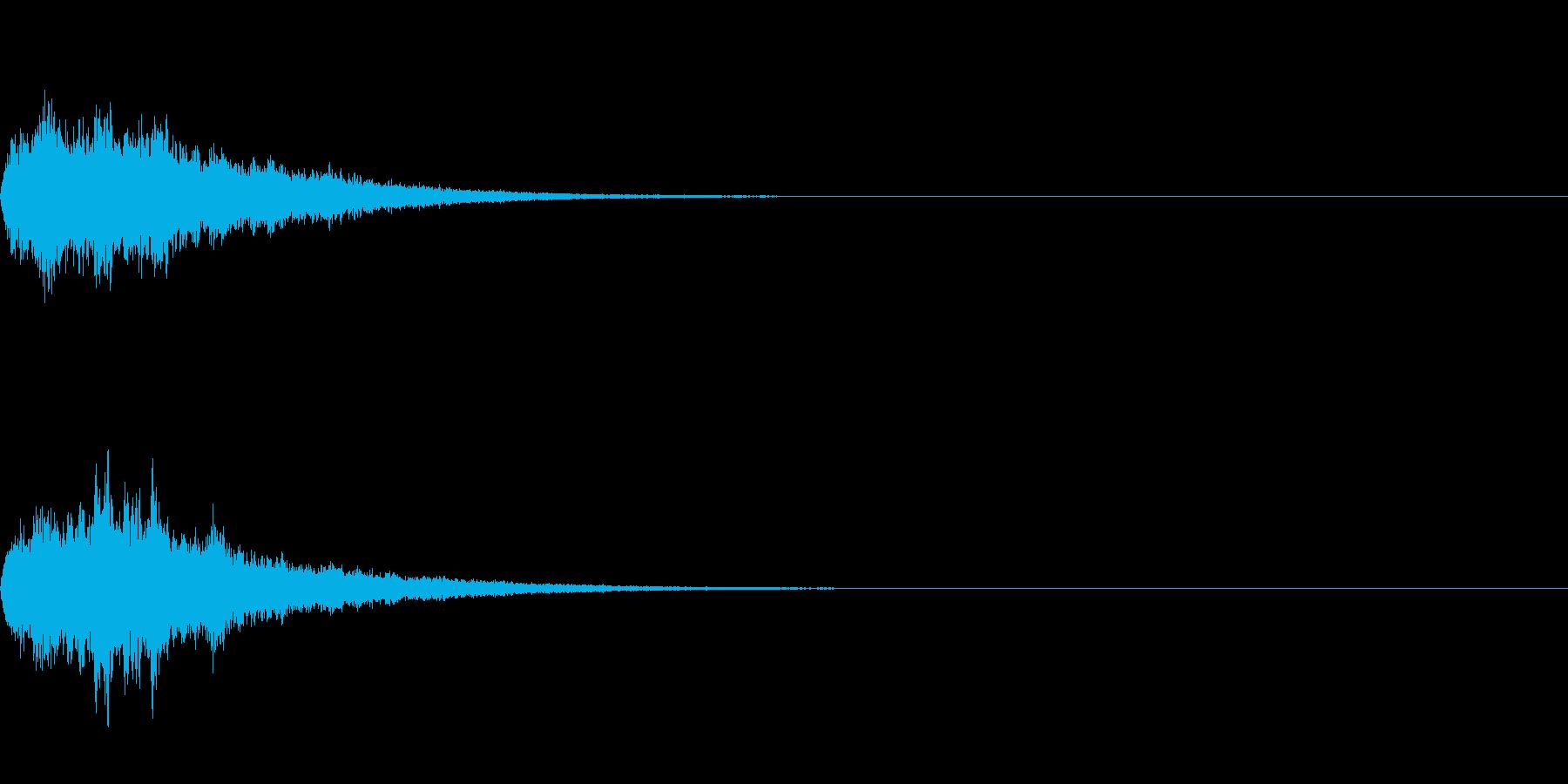鈴の音_その4の再生済みの波形