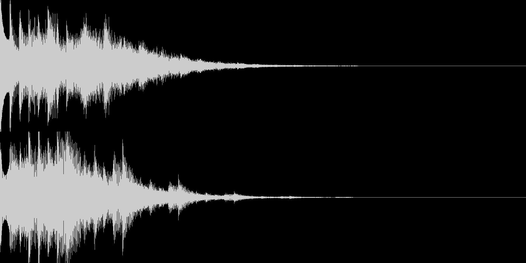 スタート音07の未再生の波形