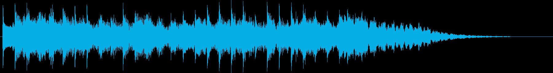 インフォメーションチャイム(ほのぼの)の再生済みの波形